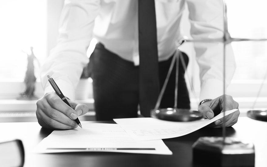 podpis prawnych dokumentów